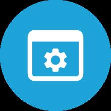 Custom medical system icon